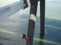 Rope Access Installation of Cathodic Protection